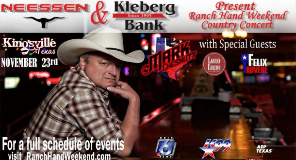 City of Kingsville Announces Ranch Hand Weekend 2019 Line up